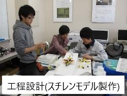 工程設計(スチレンモデル製作) 第5期生 ものづくり一気通観エンジニアの養成 プログラム