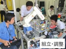 組立・調整 第6期生 ものづくり一気通観エンジニアの養成 プログラム