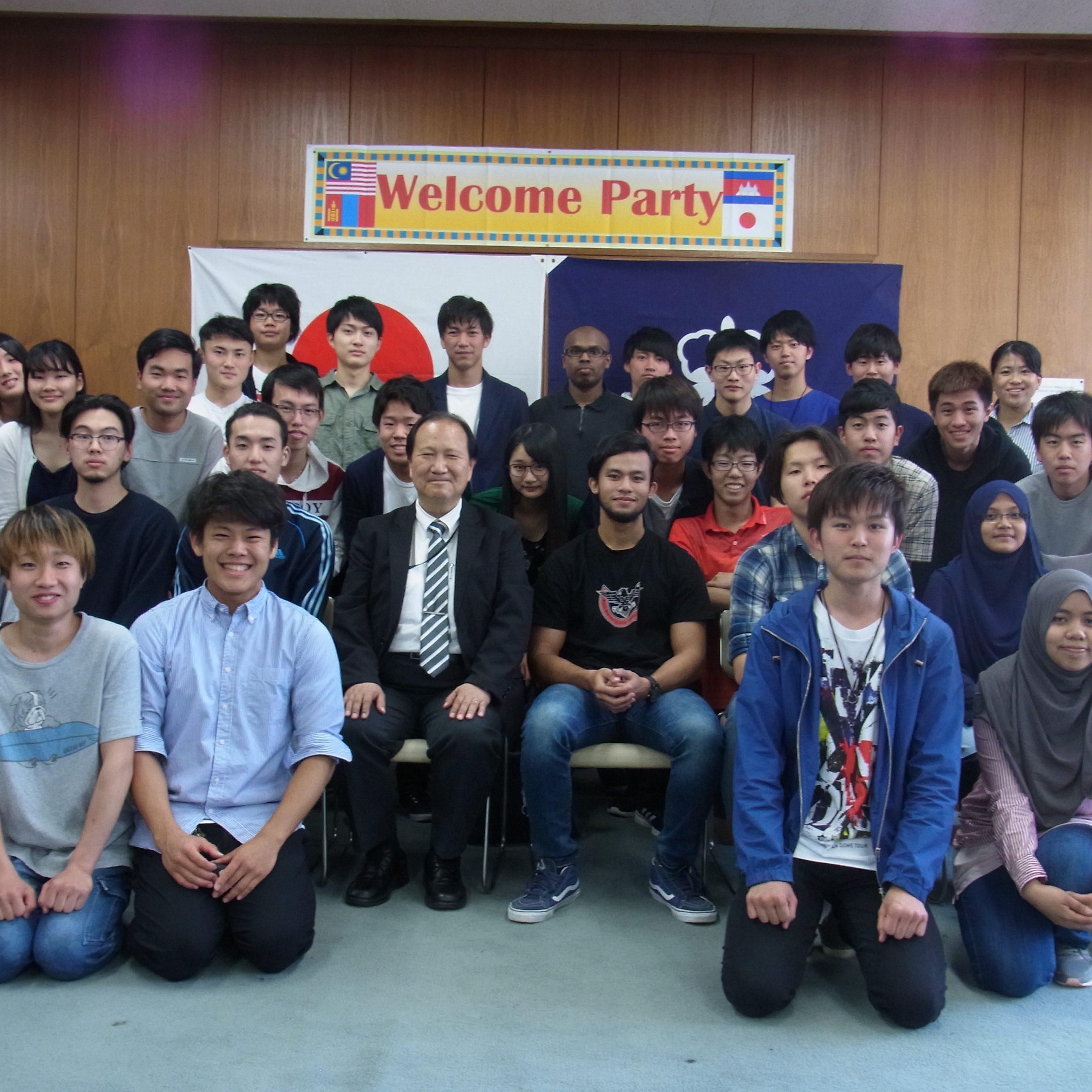 新留学生の歓迎会を開催しました