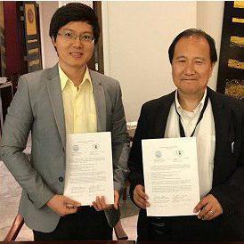 タイ王国のシラパコーン大学と学術交流協定を締結