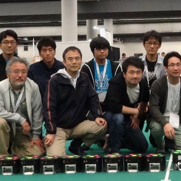 愛知県の国際ロボット大会支援チームに選ばれる