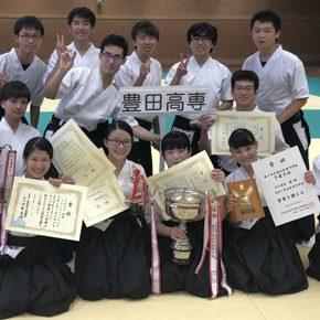 全国高専弓道大会にて活躍!