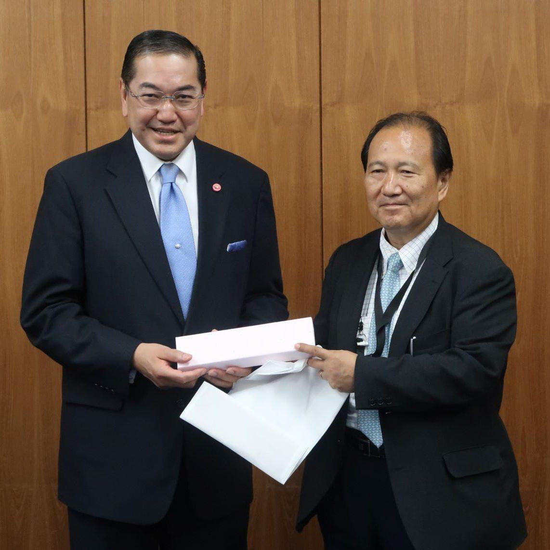 タイ王国元外務大臣一行が豊田高専を訪問