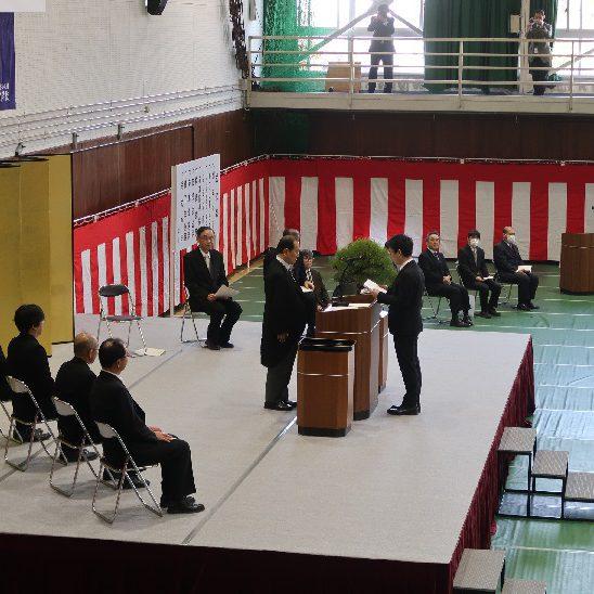 令和元年度修了式・卒業式を挙行